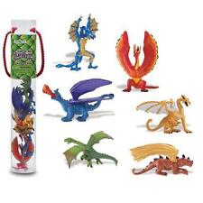 Drachen Set 1  (6 Minifiguren) Serie Tubos-Röhren Safari Ltd 685604