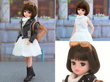 "(New without Box) Takara Licca Bijou Series 9"" Japan Fashion Doll Snow Top"