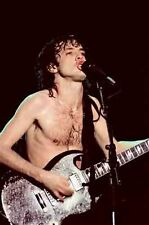 "12""*8"" colour concert photo of Angus Young of AC-DC at Wembley in 1982"