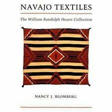 Navajo Textiles William Randolph Hearst Collection Nancy J Blomberg Book