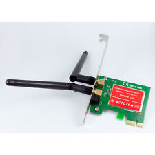 300M Wireless N G PCI-E PCI Express Card Cordless WiFi Network Lan Ethernet NIC