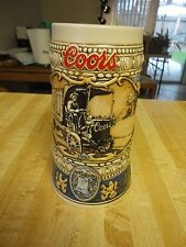 COLLECTOR BEER STEIN COORS 1989 EDITION  102833
