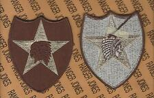 US Army 2nd Infantry Division Desert DCU uniform patch m/e