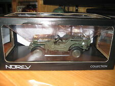 NOREV -1942 MILITARY JEEP WITH MACHINE GUN
