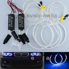 Blue Angel Eye Lights  Halo Light Ring CCFL for  BMW  E46 3 Series Non-Projector