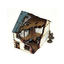 4GROUND - Damaged Detached-House (type 1) - 28mm