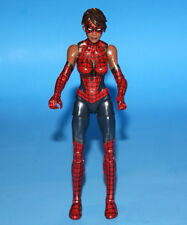 MARVEL LEGENDS SPIDER-MAN SPIDER-GIRL SPACE VENOM BAF LOOSE COMPLETE
