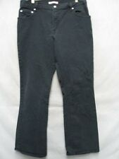 D1920 Levi's 550 Relaxed Black Boot Cut High Grade Stretch Jeans Women 34x30