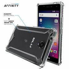 POETIC Affinity Slim fit Shockproof Bumper Case Cover for BLU R1 HD Clear NEW