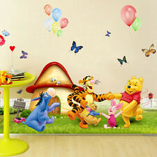 Hot sale Cartoon Decoration Bedroom Removable Wall stickers Winnie the Pooh