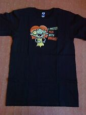 Woot Shirt - I Prefer Someone With Brains - Halloween - schwarz black - S