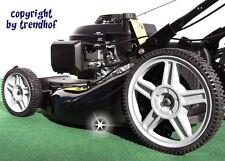Benzin Rasenmäher 53 cm Vario Antrieb 5,5 HONDA GCV160 Mulchen Laubsauger Neu s