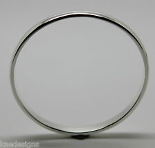 Genuine Full SOLID Sterling silver 4mm wide baby bangle 46mm outside diameter