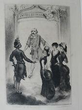 MARC DE MONTIFAUD ENTRE MESSE ET VÊPRES  UNE BRIMADE DANS LE GRAND MONDE 1882