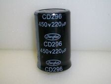 220 Uf.  450 V. Dc. PC MOUNT CAPACITORS
