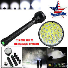 24x XML T6 LED 32000LM Flashlight 5 Modes Torch 26650/18650 Camping Lamp Light