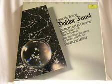 BUSONI Doktor Faust Dietrich Fischer-Dieskau Ferdinand Leitner DG 3 LP box set