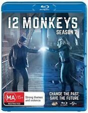12 Monkeys : Season 2 NEW Region B Blu-ray