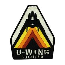 """Star Wars """"U-Wing Fighter"""" Pilot Iron-On Patch Rogue One Cosplay Outfit Applique"""
