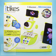 LITTLE TIKES iTikes Discover Microscope SCIENCE LEARNING SMART TOY - 4 yrs & up
