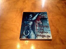 Masters of Taboo Cannibalism BOOK*Cult Movie Mania*400 Made*Horror*Rare*Signed*