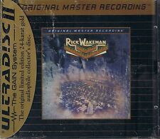 Wakeman, Rick Journey to the Centre of the Earth MFSL Gold CD Neu OVP Sealed