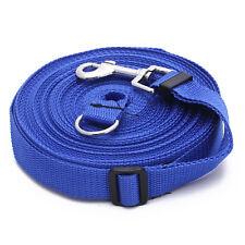 Long Pets Dog/Cat/Puppy Leash Training Obedience 50ft/15m/2.5cm Lead Blue New