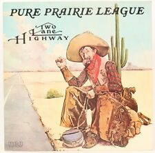 Two Lane Highway   Pure Prairie League  Vinyl Record