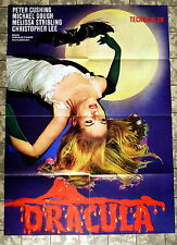 DRACULA / HORROR OF DRACULA * A1-FILMPOSTER WA - Ger 1-Sheet HAMMER LEE RR1969