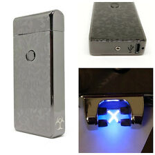 Onyx Cloud Plasma Arc Lighter USB Rechargeable WIndproof Electric Battery