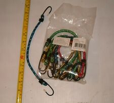 """10 BRAND NEW  12"""" BUNGEE CORDS , TIE DOWN STRAPS WHOLESALE , ONLY  $0.16 EA"""