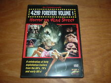 42ND STREET FOREVER DVD 70's 80's GRINDHOUSE MOVIE CLIPS HAPPY HALLOWEEN GLOBAL
