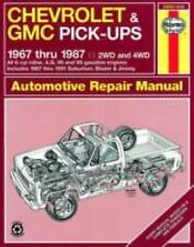 Chevrolet & GMC Pickup, 1967 thru 1987 (Haynes Repair Manual)-ExLibrary