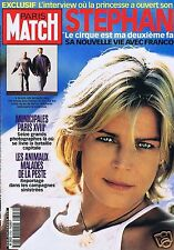 Couverture magazine,Coverage Paris-Match 15/03/01 Stéphanie de Monaco