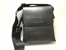 Hugo Boss BAG Black 100% Real and Soft Leather
