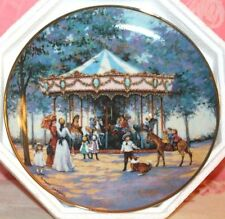 *NEW* FRANKLIN MINT LE CAROUSEL MEMORIES COLLECTOR PLATE 1992 *RETIRED*