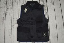 BNWT NEW G-STAR VEST RE GILET DIP & DRY RE INDIKA DENIM JEANS ESSENTIALS SIZE S