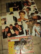 NEW KIDS ON THE BLOCK NKOTB 10 CLIPPING 10 coupures de presse articles Lot 02