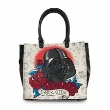Loungefly Star Wars Darth Vader Tattoo Tote with Roses