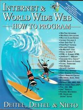Internet and WORLD WIDE WEB -How to Program pb, 2000- First Edition-like new