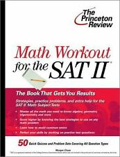 Math Workout for the SAT II (College Test Preparation) by Princeton Review