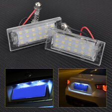 2pcs 18 LED License Plate Light Lamps For BMW X5 E53 X3 E83 2000-15 Error Free