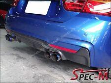 3D Type Carbon Fiber Diffuser Lip Fits F32 F33 420i 428i 435i w/ M Sport Bumper