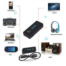Bluetooth V4.1 Wireless 3.5mm AUX Audio Stereo Music Home Car Receiver Adapter