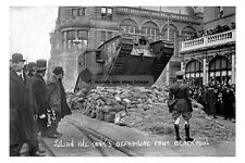 pt0537 - WWI Tank leaves Blackpool , Lancashire - photo 6x4