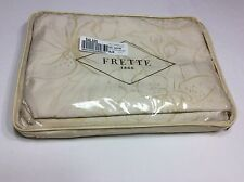 FRETTE Airy Ivory/Beige 100% Cotton QUEEN DUVET COVER. Retatil $725