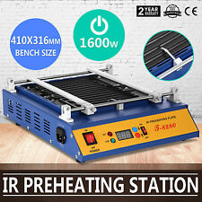 IR Preheating Oven T8280 Rework Station 280x270mm Pid Temperature BGA SMD NEWEST