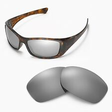 New Walleva Polarized Titanium Replacement Lenses For Oakley Hijinx Sunglasses