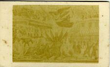 Evacuation du territoire GUERRE de 1870 Franco-Prusse CDV photo carte de visite