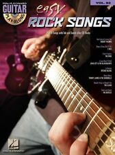 Guitar Play-Along Easy Rock Songs Learn to Play T REX CLASH TAB Music Book